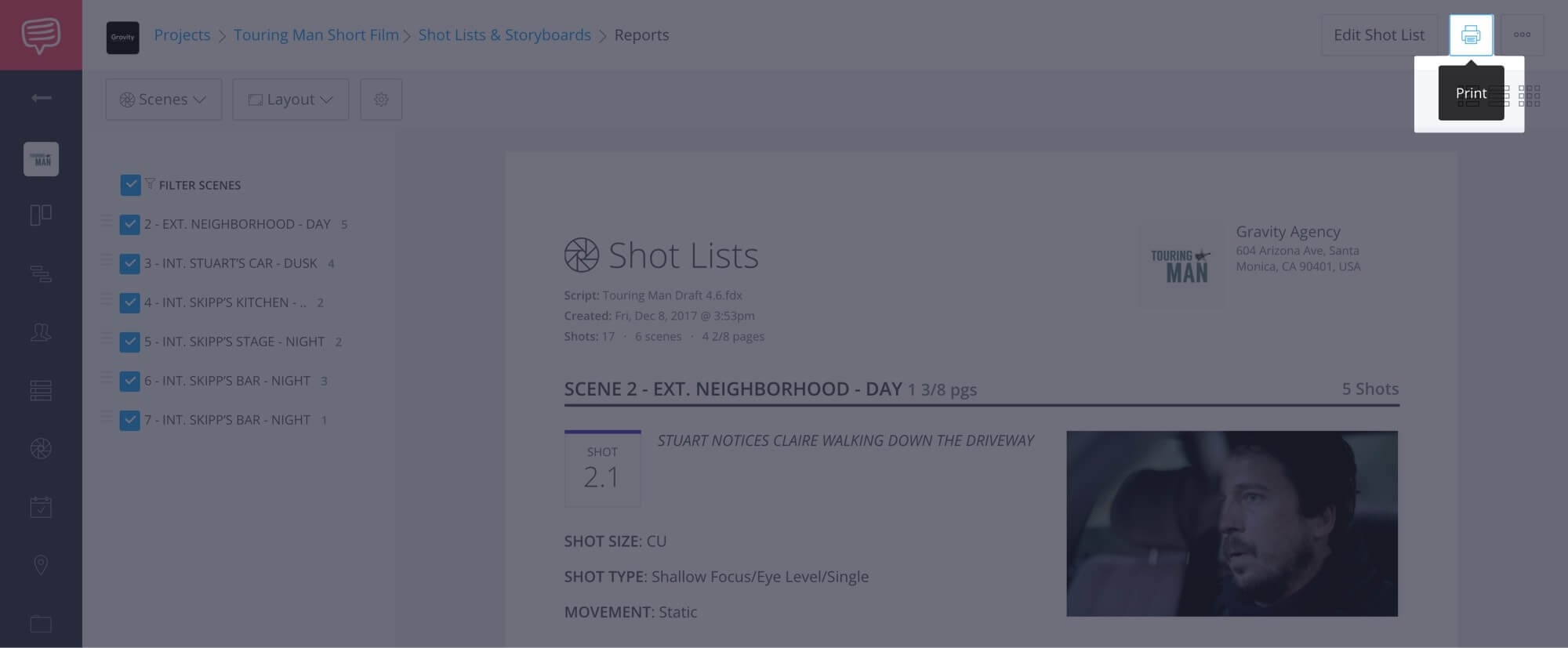 How to Create a Shot List with StudioBinder - Shot List Creator Template - 27
