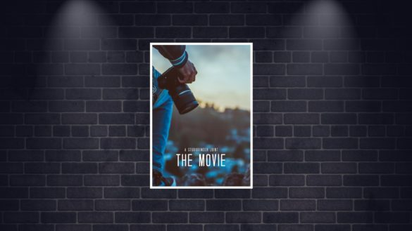 Font for bottom of movie poster