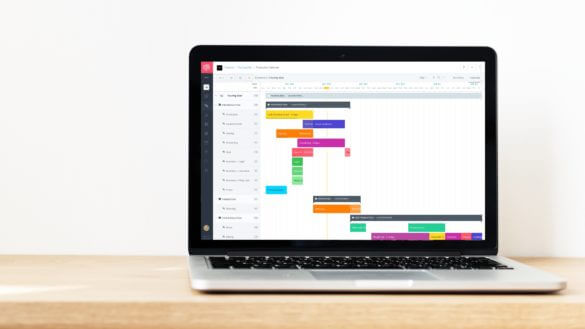 How to Plan a Shoot with Film & Video Production Calendar Software - Cover Macbook - StudioBinder