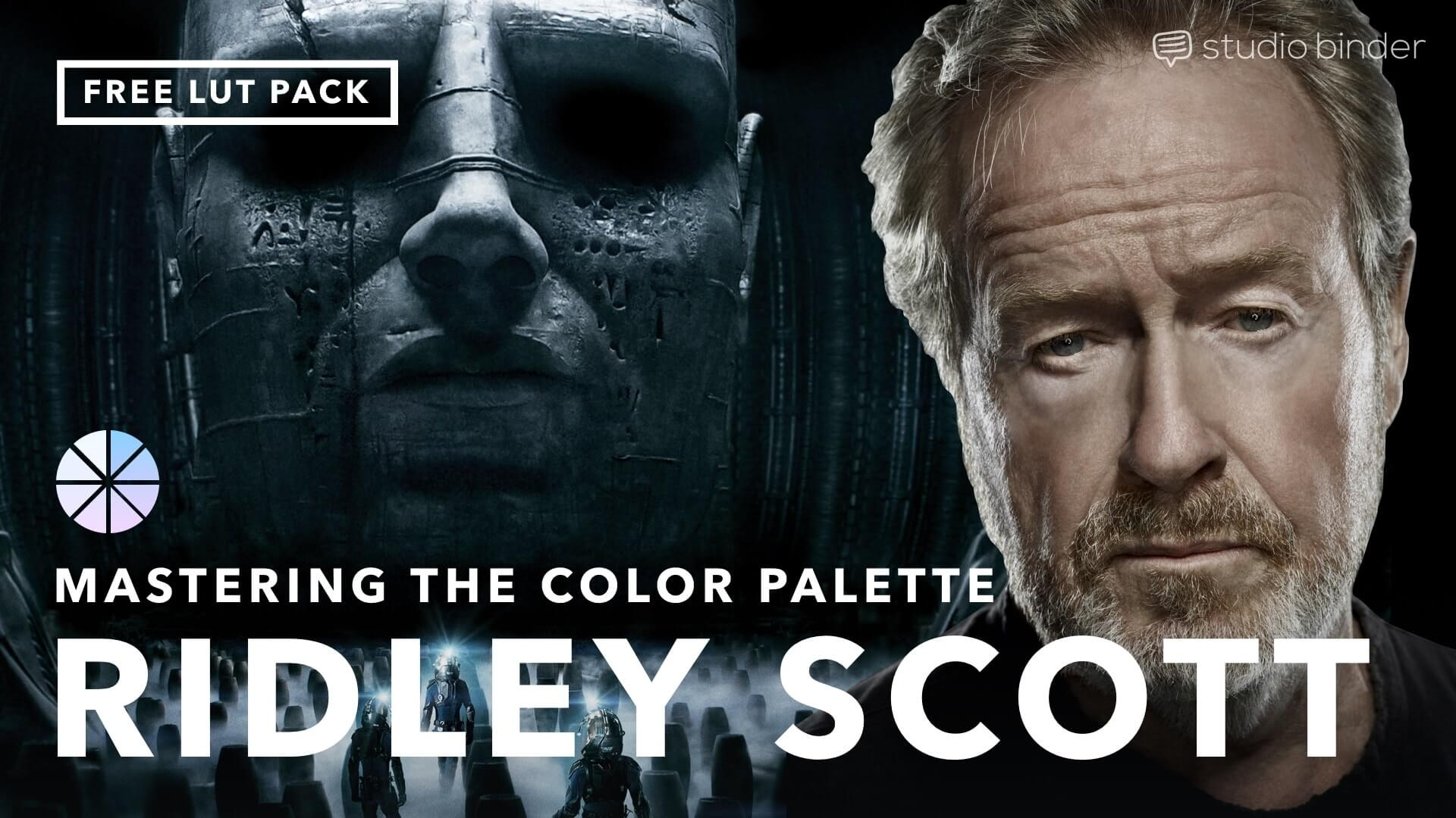 Mastering the Movie Color Palette - Ridley Scott - Social