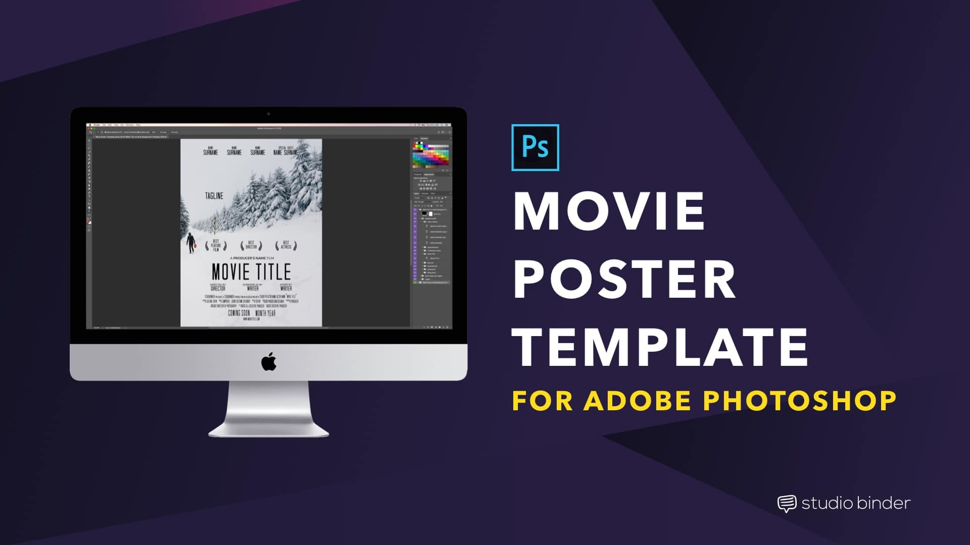 RonyaSoft Poster Designer LinkedMovie Credit Template