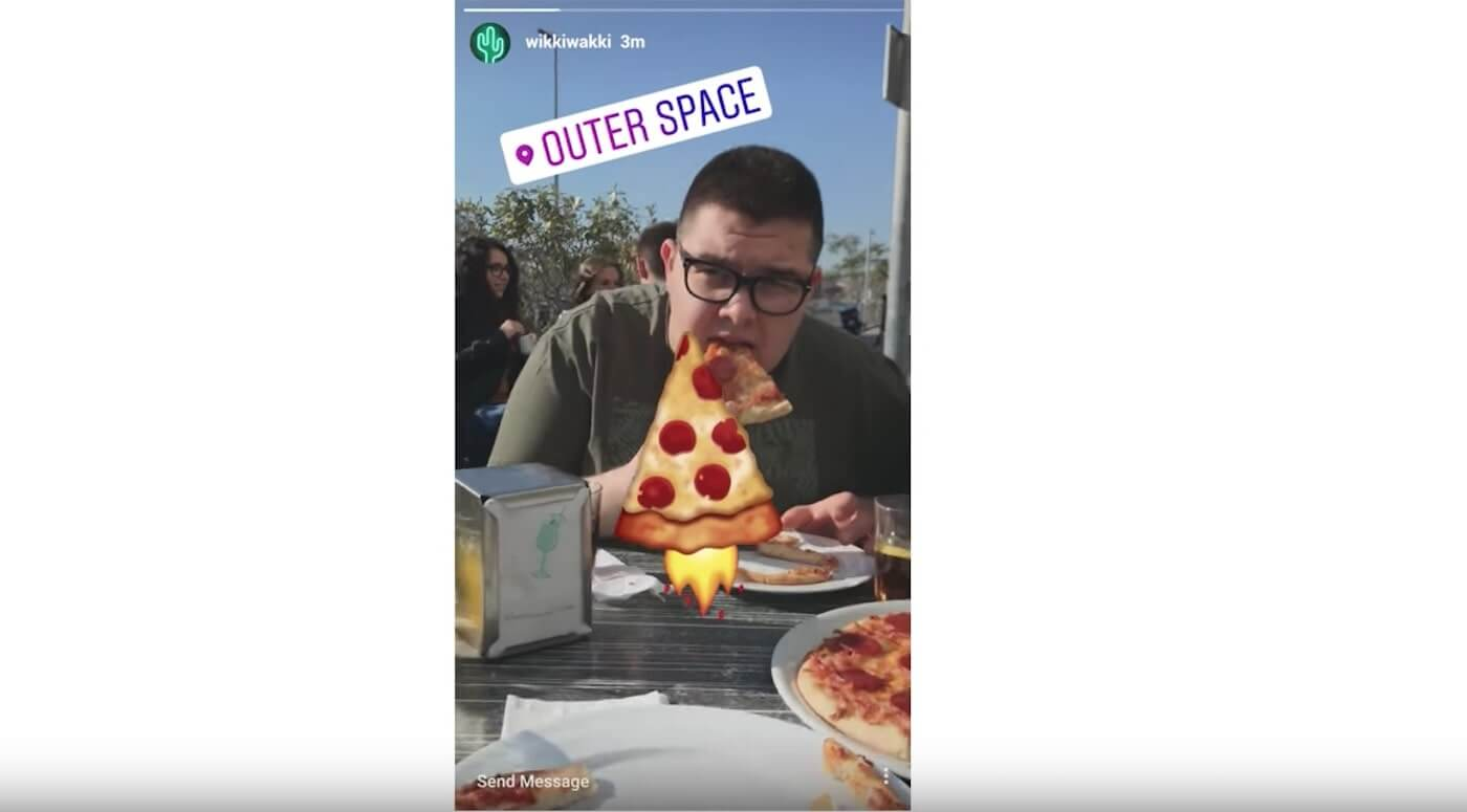 Top Creative Digital Advertising Trends - Instagram and launching pizzas