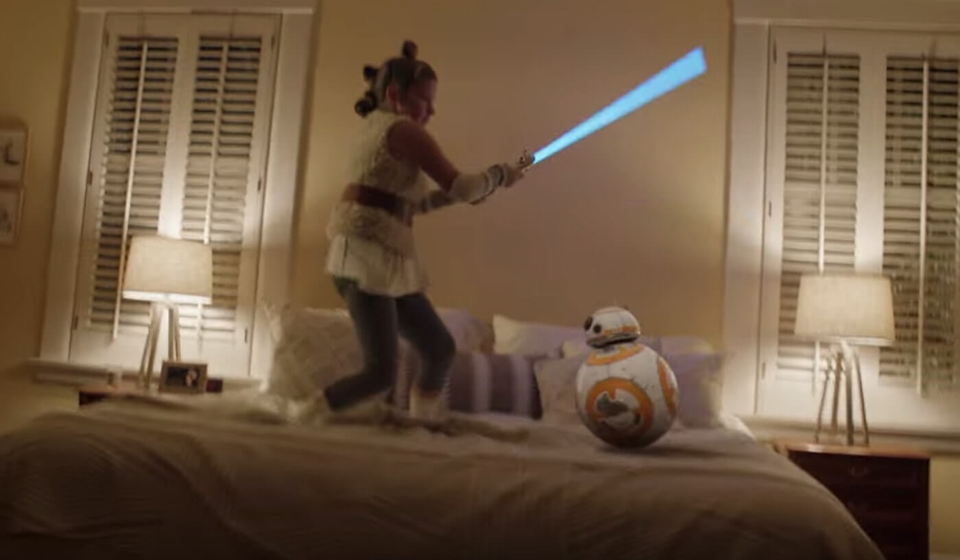 Top Creative Digital Advertising Trends - Star Wars and playing make believe