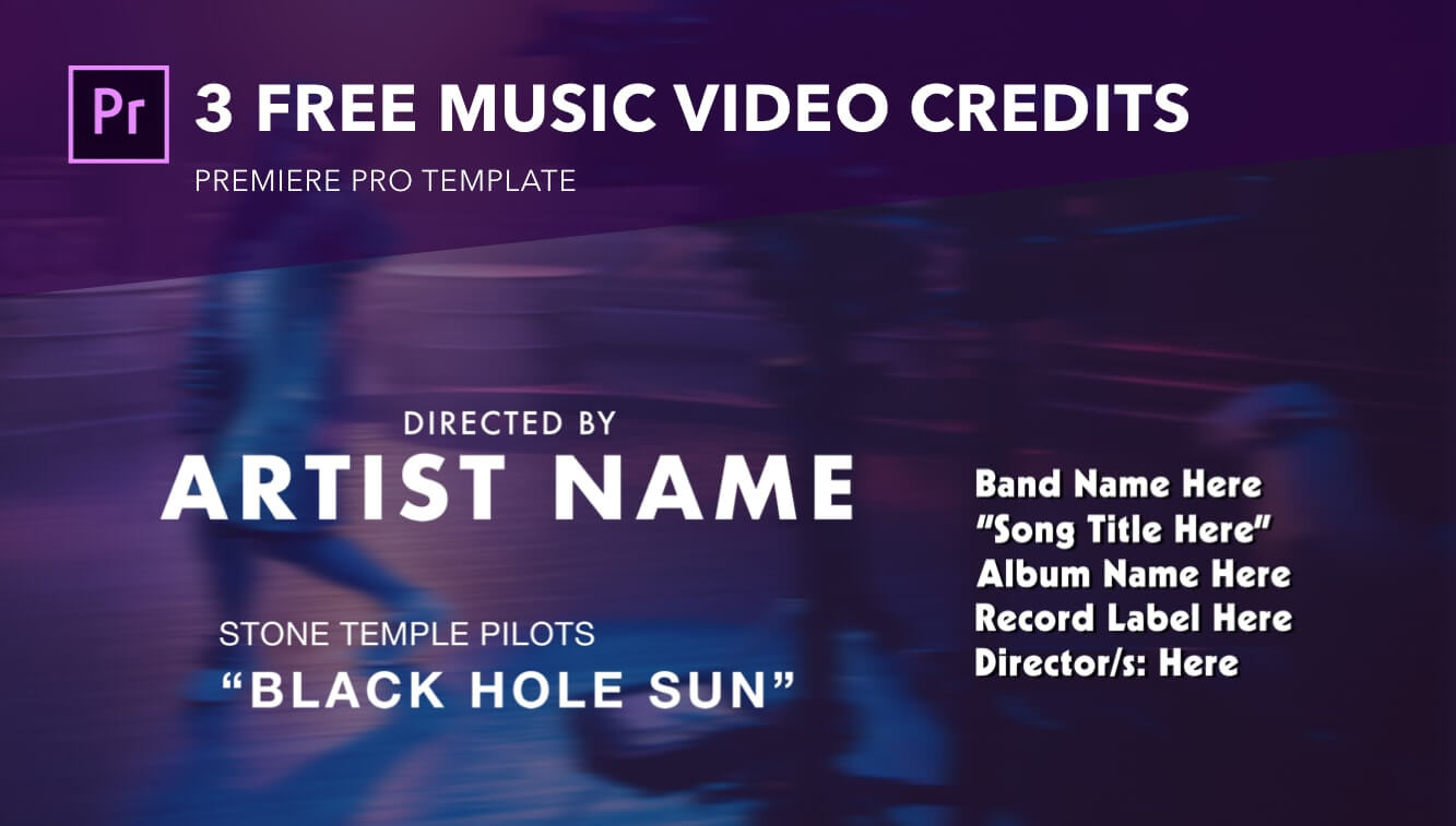 Essential Music Video Credits Format Guide - Exit Intent - StudioBinder Production Management Software