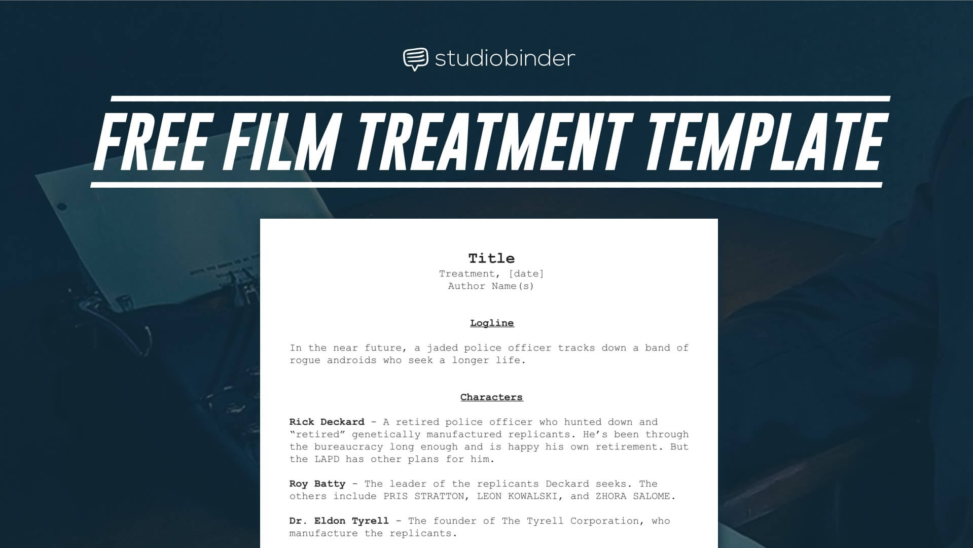 download your free film treatment template right now