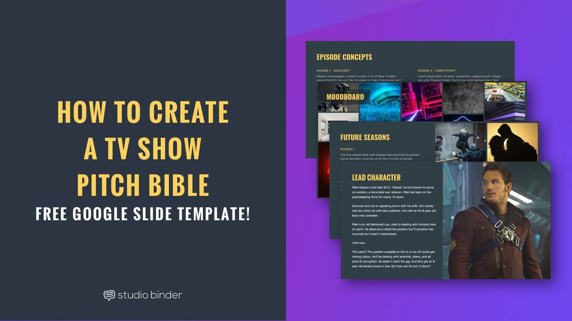 How to Create a TV Show Pitch Bible that Sells [Free Bible Template]