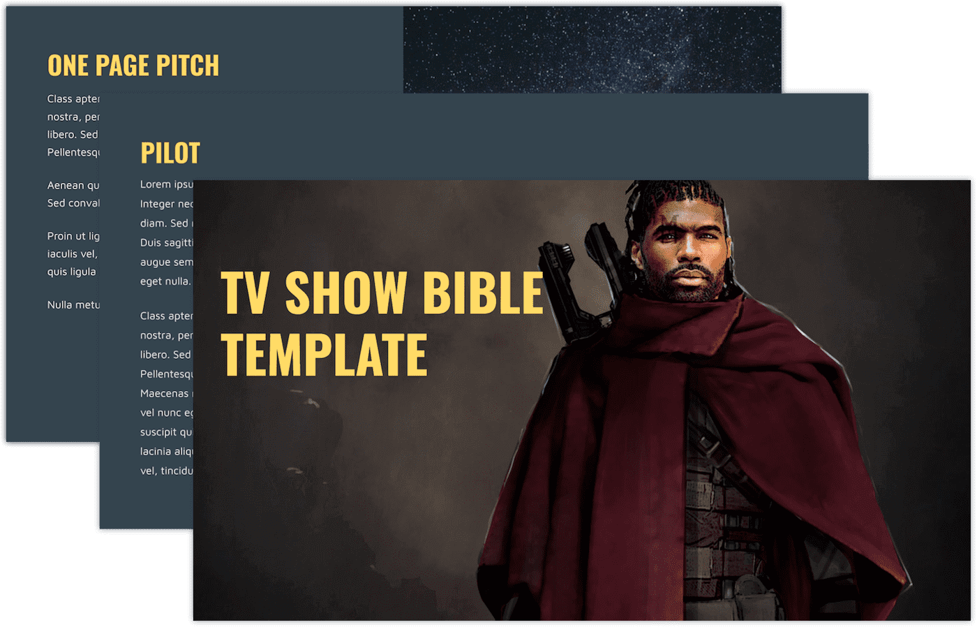 How to Create a TV Show Pitch Bible that Sells - Stacked
