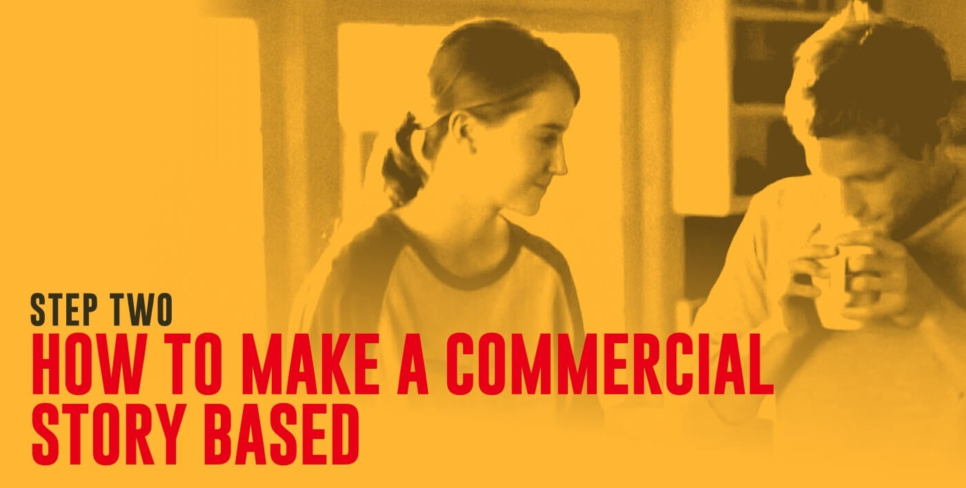 How to Make a Commercial by Mastering Persuasive Ads - Step Two How to Make a Commercial Story Based-min