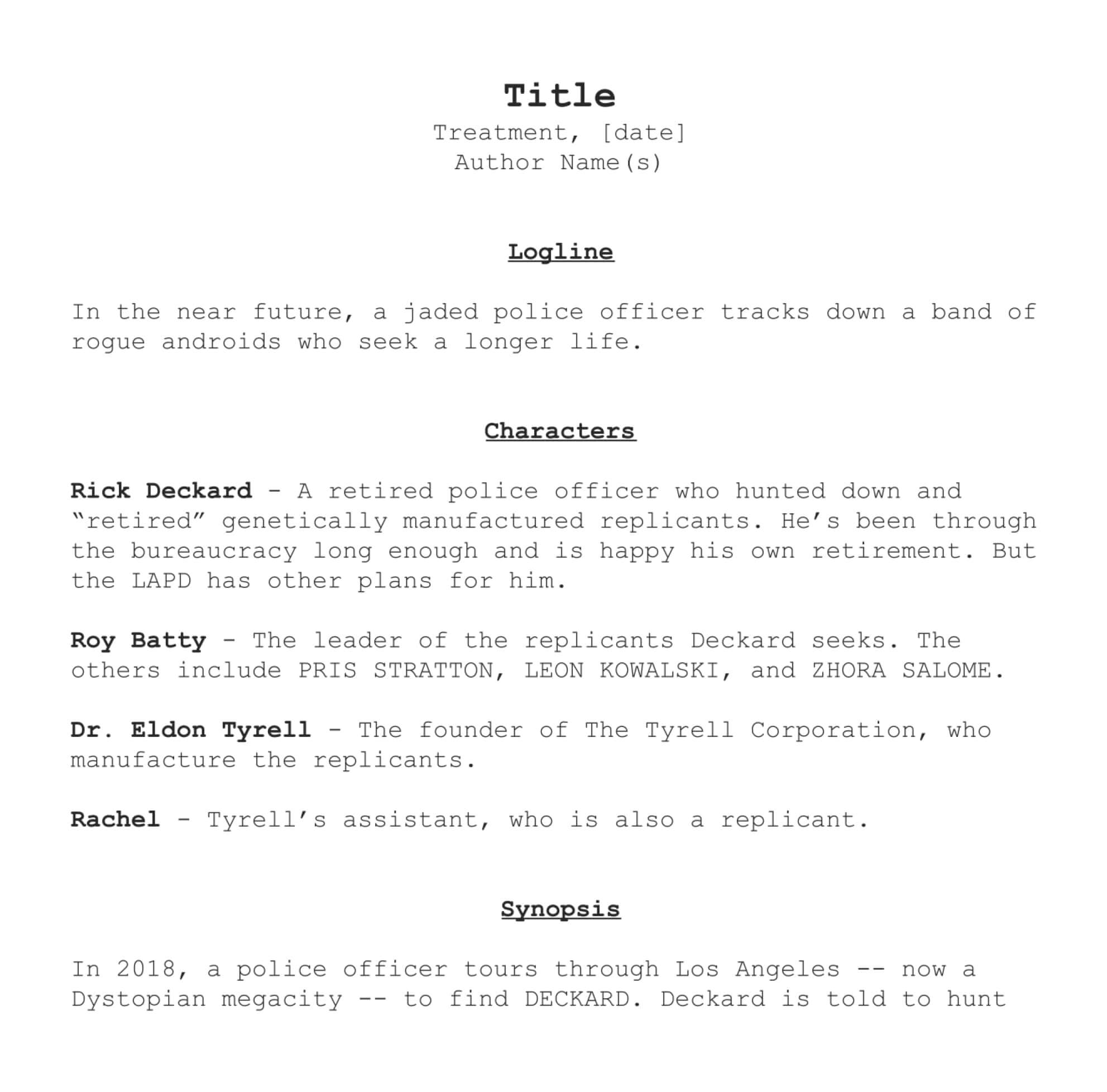 How to Write a Film Treatment Like the Pros [with FREE Template]