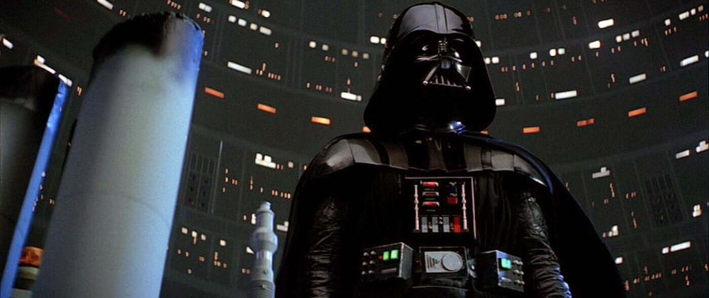 The Ultimate Guide To Camera Shots - A Threatening Low Angle Of Darth Vader In Star Wars The Empire Strikes Back