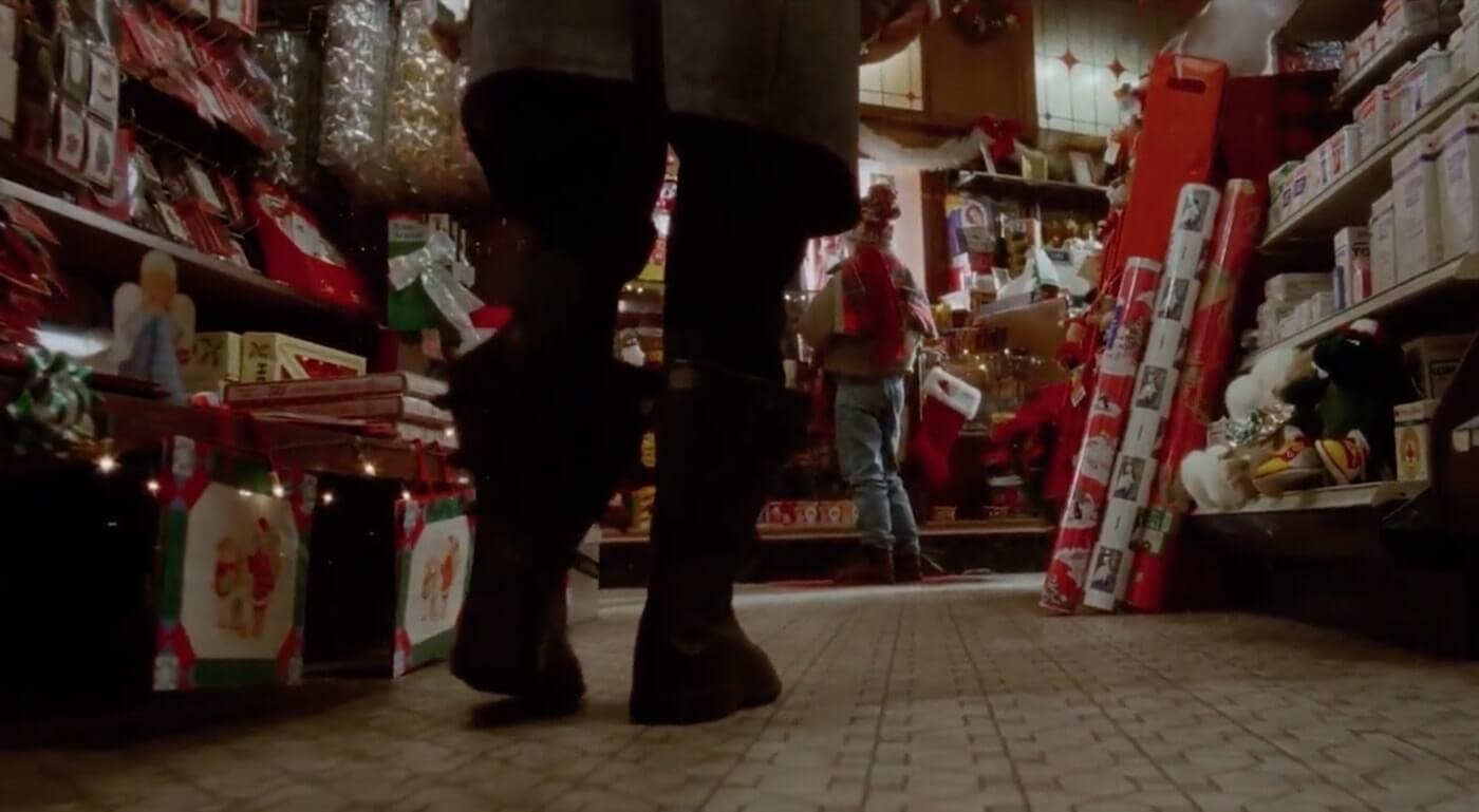 The Ultimate Guide To Camera Shots - Marley Approaches Kevin In Home Alone Knee Level Shot