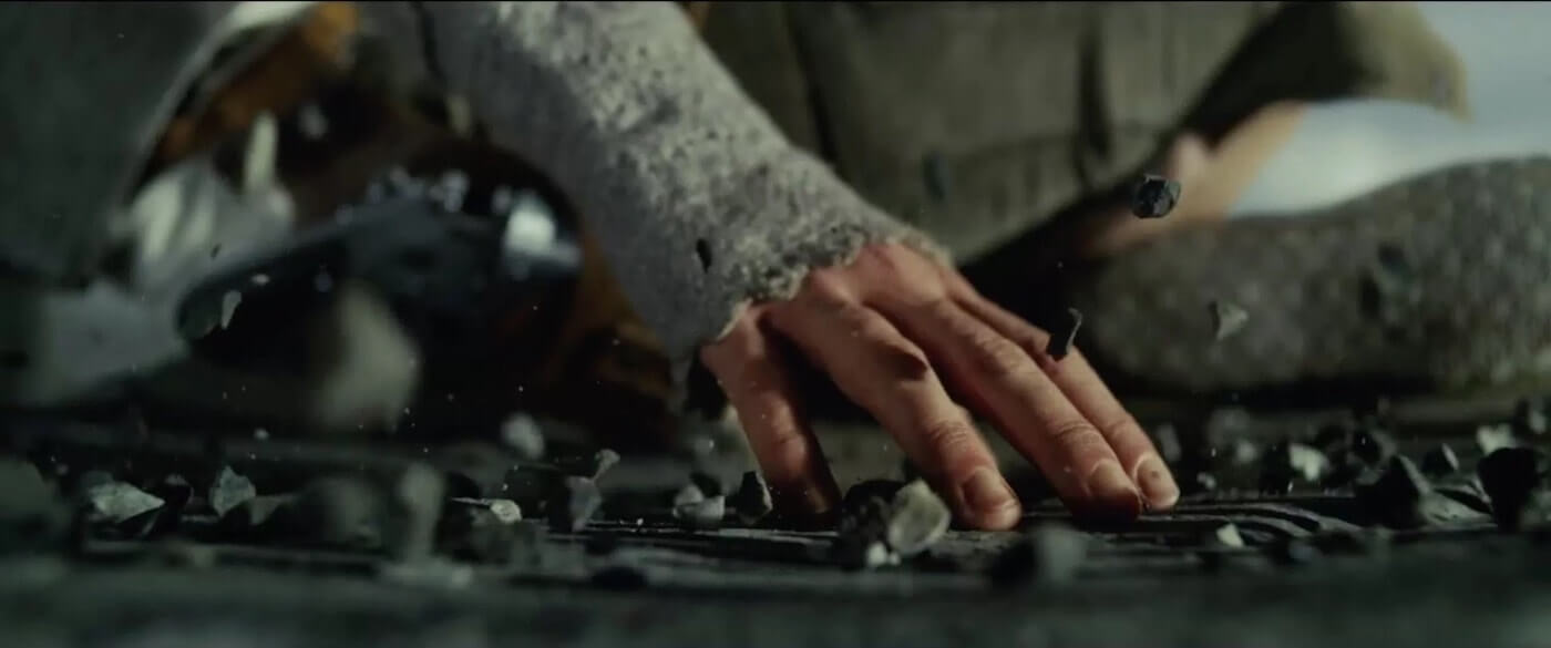 Ultimate Guide To Camera Shots - A Ground Level Close Up From Star Wars The Last Jedi