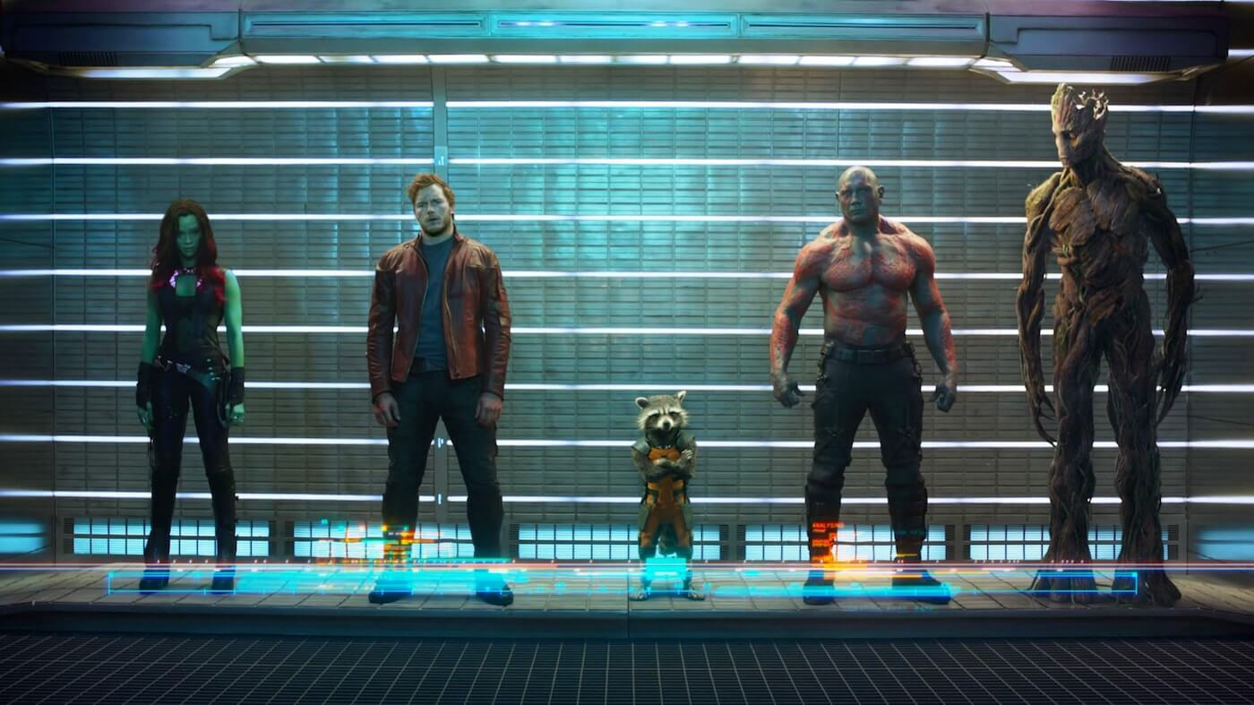 Ultimate Guide To Camera Shots - Full Shot Guardians Of The Galaxy