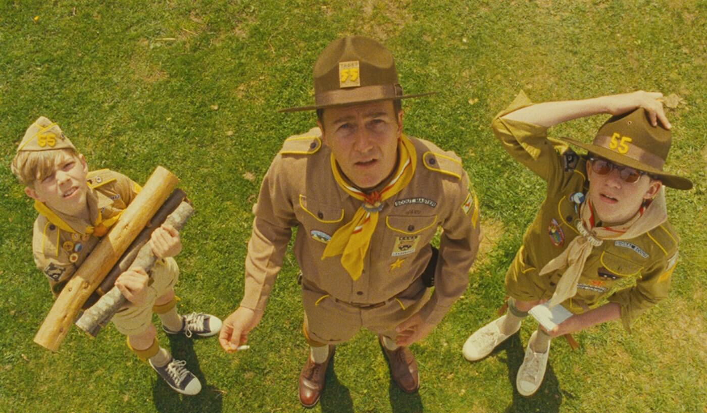 Ultimate Guide To Camera Shots - High Angle Shot In Moonrise Kingdom