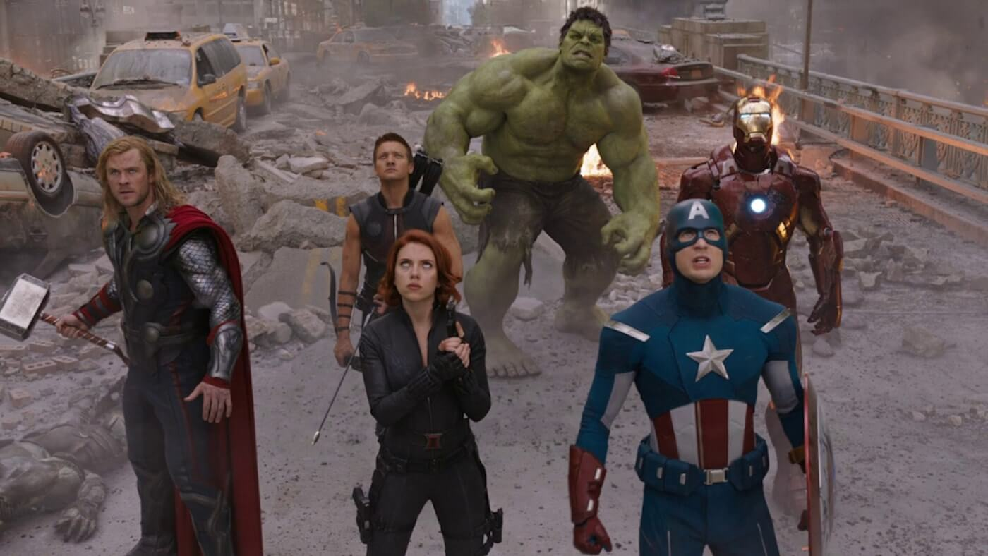 Ultimate Guide To Camera Shots - High Angle Shot In The Avengers