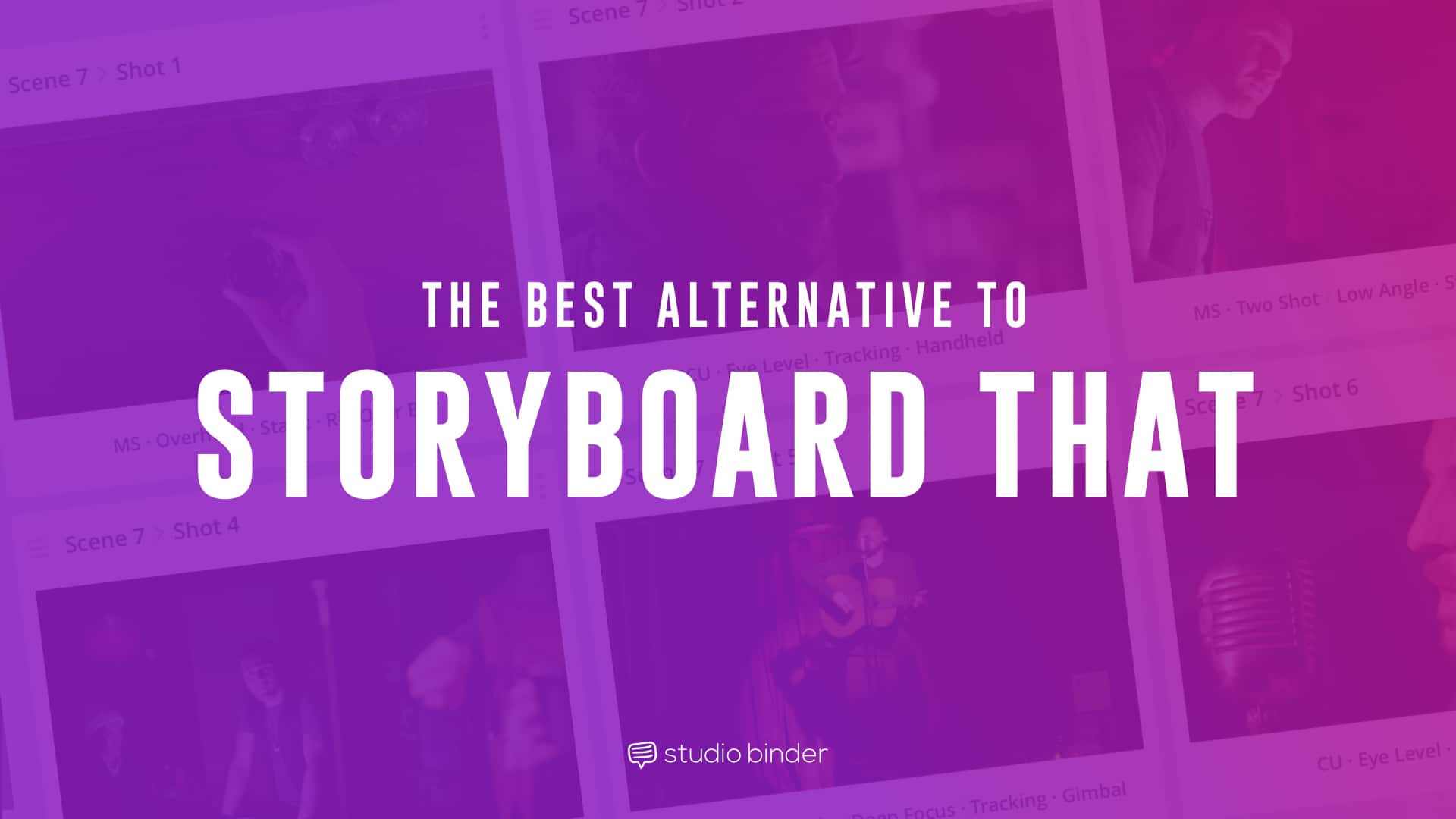 Storyboard That is among many online storyboarding software options. It was designed as a catch-all storyboard maker for educators, businesses and video. But it's really just a clunky storyboard website with superfluous, slow-loading features that detract from industry-standard storyboard tools for video like StudioBinder.