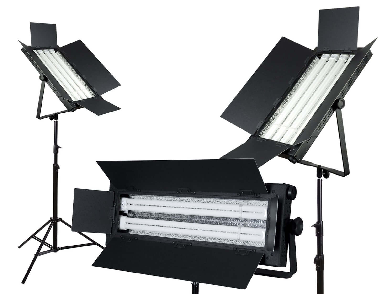 Best Video Lighting Kits - Production Lighting - Fluorescent Film Lights  sc 1 st  StudioBinder & Production Lighting: The Best Video Lighting Kits for Filmmakers