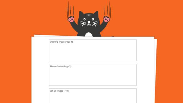 Save the Cat Film Beat Sheet Template - Header - StudioBinder