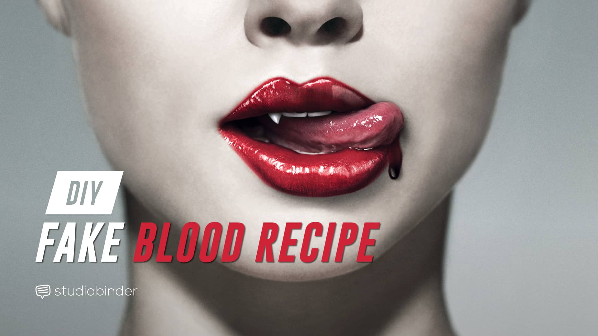 the best diy fake blood recipe  with free blood spectrum