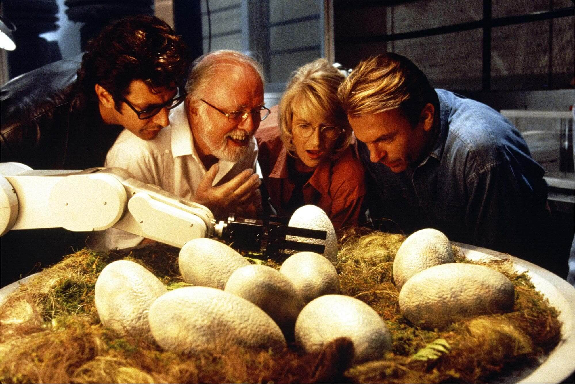 Medium Close Shot - The Art of the Camera Angle - Jurassic Park BTS