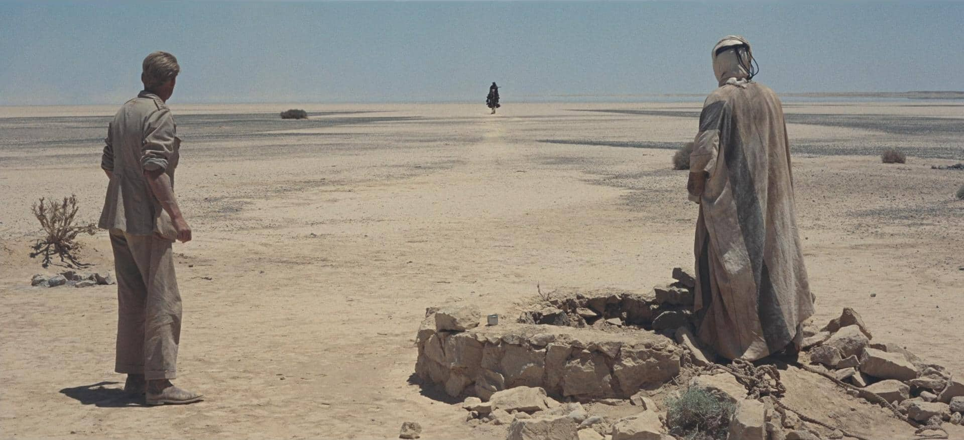 Wide Angle Shot - Camera Movements and Angles- Lawrence of Arabia